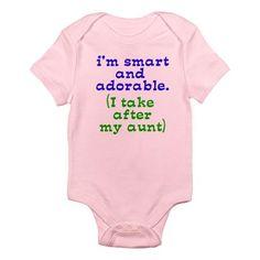 aunt onesie...... Oh yes!!!!!
