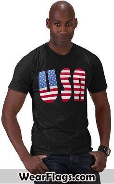 #USA #American Flag T-shirt, $22.95