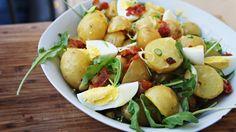 Salada de Batata Bolinha com Bacon | Carambola Maluca