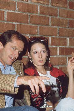 Angelica Huston & Jack Nicholson, 1974.