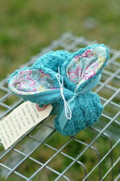 Teal Flower Boo Boo Bunny  For Owies by thelilredwagon on Etsy, $6.50