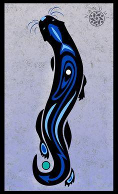 deviantART: More Like Tribal Otter Tattoo by ~geekyalias