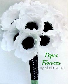 Learn to Make Beautiful Paper Flowers  great book