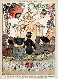 Henry Mirande 1905 Guignol Puppet Show