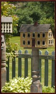 birdhouses, primitive bird houses, folk art, art bird, porch, garden, birds, everyday collect, primitive birdhouse