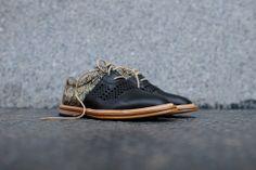 Thorocraft Mercer - Black / Raffia   Shoes   Kith NYC