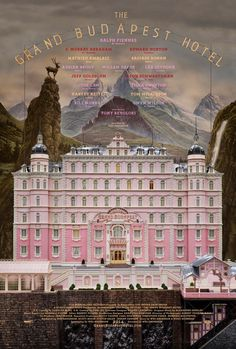 """""""El Gran Hotel Budapest"""" Wes Anderson's The Grand Budapest Hotel with Bill Murray, Edward Norton, and Ralph Fiennes"""