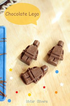 DIY LEGO Chocolates - I've got one of these ice cube trays already, this needs to happen.