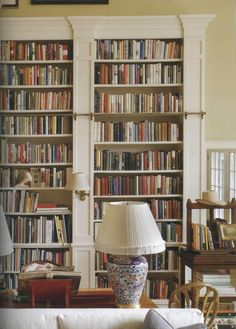 decorating rooms, design homes, home libraries, design interiors, book storage, living room designs, library shelves, reading books, dream rooms