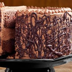Chocolate Cake with Whipped Fudge Filling and Chocolate Buttercream Recipe Recipe