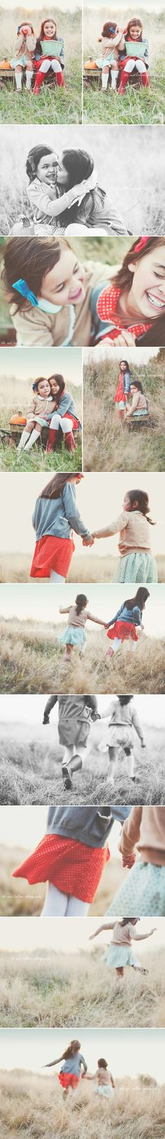 love this set of sister pictures