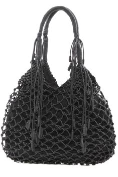 Monserat de Lucca — Leather Macrame Bag