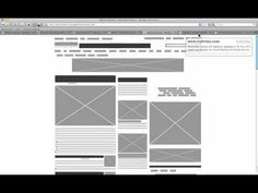 Wirify - Turn any web page into a wireframe in one click, from Volkside