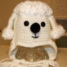 Poodle Earflap Hat by Marshakaye on Etsy, $27.00