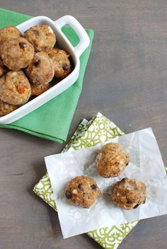 Get into the spirit of fall with sweet potato energy bites!