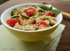 Cous cous tonno e zucchine