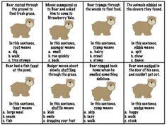 Bear Wants More:  Speech & Language Activities