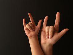 american sign language <3