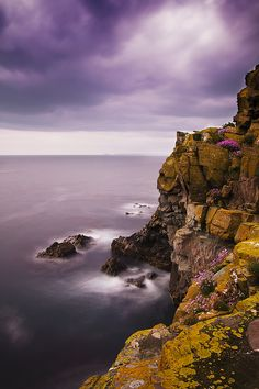 Ardmore Cliffs by dd80photo, via Flickrl, Ardmore, County Waterford, Ireland