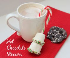 Hot Chocolate Stirrers - Family Food And Travel