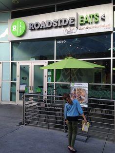 Walk Up to the Drive-In: The New RoadsideEats Roadside Eats 6374 Sunset Blvd. Hollywood, Ca 90028 Phone: 323-364-0060 Online: roadsideeats.com