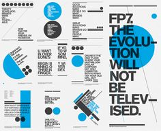 FP7. Self Promotion Posters by Ryan Atkinson, via Behance