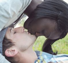 I really can't stand how cute this is. Sara and Kevin. Engagement photos. They are so cute. Follow me. #bwwm #wmbw #interracial #engagement