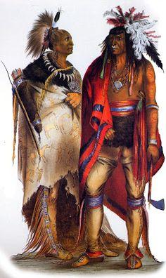 Iroquois Indian Warriors