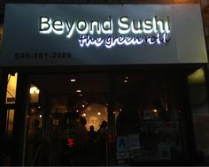 Beyond Sushi In NYC