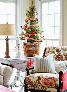 Fill a basket. #christmasdiy #holidaydiy