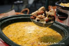 Greg's Chicken Enchilada Soup! This Looks AMAZING! #soup #enchilada #recip