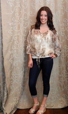 Vintage Wild blouse. Super cute!  https://www.facebook.com/apricotlanezonarosa