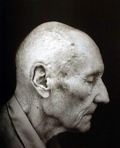 William S. Burroughs by Annie Leibovitz.