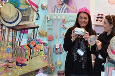 The Milk & Soda girls play dress-up withe their fun range of kid's accessories at Kids Instyle Melbourne 2014.