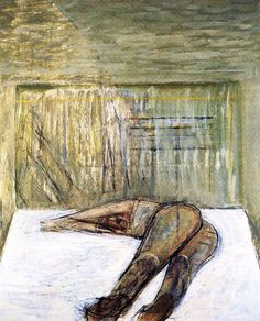 Prone Exhausted, Karl Weschke. English (1925 ‑ 2005)