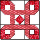 patchwork, 16inch block, quiltblock, ribbon puzzl, pattern, block tutori, quilt blocks, cancer ribbons, puzzl block