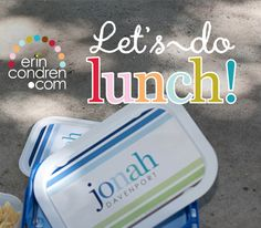 oh happyday! we're having a giveaway! 3 lucky people will win their own personalized erincondren lunchbox! follow these easy steps to enter: 1. follow us on Pintrest 2. comment here with your favorite lunch food and repin this post don't forget our hashtag!  winners will be chosen on Thursday... good luck! #eclunchboxes #backtoschool #lunchbox #giveaway