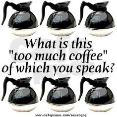 Much of #coffee today!