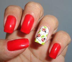 Nail Art - Ladybugs II