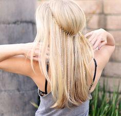 DIY-long hair accessories by ...love Maegan