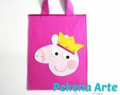 Sacolinha Peppa pig pigs, peppa pig