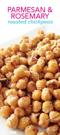 Rosemary + Parmesan Chickpeas