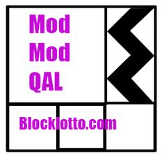 2014: Mod-Mod Quilt-Along by Block Lotto