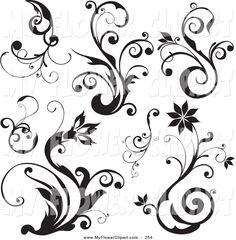 Scroll+design+clip+art+free