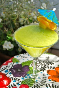 Crazy Sexy Kitchen Project: Green Colada #vegan #glutenfree #recipes #kriscarr #CrazySexyKitchen #greenjuice