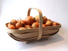 Garden Trug, traditional bent wood sussex trug