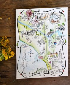 Seattle Wedding Map | Flickr - Photo Sharing!