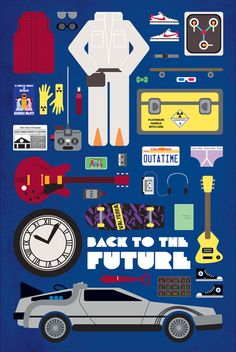 back to the future #illustration #movie #backtothefuture