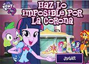 Equestria Girls La Corona | juegos my little pony - jugar mi pequeño pony