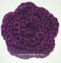 Crochet Pretty Rose with Videos,  http://crochetjewel.com/?p=9862
